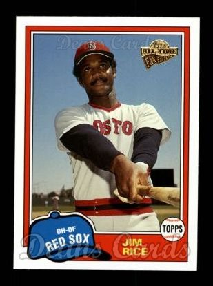 2004 Topps All-Time Fan Favorites #112  Jim Rice