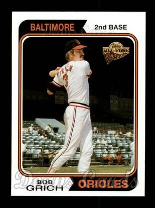 2004 Topps All-Time Fan Favorites #16  Bobby Grich