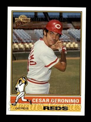 2004 Topps All-Time Fan Favorites #22  Cesar Geronimo