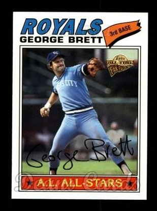 2004 Topps All-Time Fan Favorites #25  George Brett