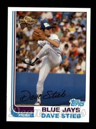 2004 Topps All-Time Fan Favorites #3  Dave Stieb