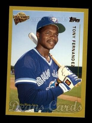 2004 Topps All-Time Fan Favorites #34  Tony Fernandez