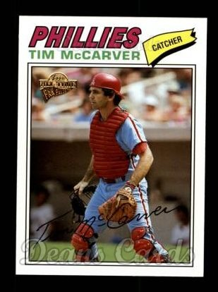 2004 Topps All-Time Fan Favorites #4  Tim McCarver
