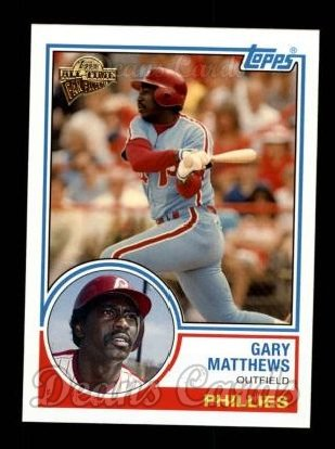 2004 Topps All-Time Fan Favorites #55  Gary Matthews