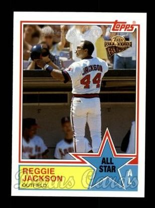 2004 Topps All-Time Fan Favorites #63  Reggie Jackson