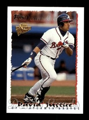 2004 Topps All-Time Fan Favorites #66  David Justice