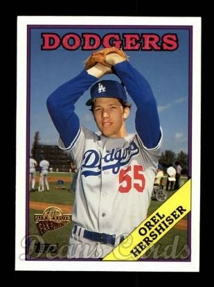 2004 Topps All-Time Fan Favorites #81  Orel Hershiser