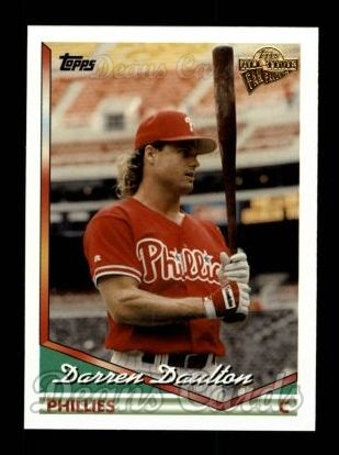 2004 Topps All-Time Fan Favorites #93  Darren Daulton