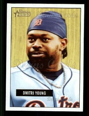 2005 Bowman Heritage #105  Dmitri Young