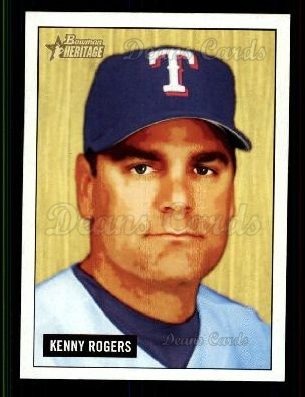 2005 Bowman Heritage #143  Kenny Rogers