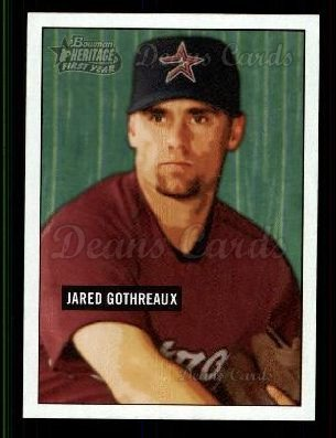 2005 Bowman Heritage #206   -  Jared Gothreaux First Year
