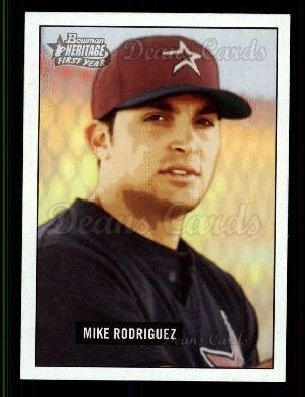 2005 Bowman Heritage #207   -  Mike Rodriguez First Year