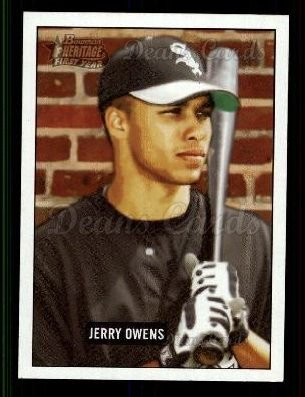 2005 Bowman Heritage #223   -  Jerry Owens First Year