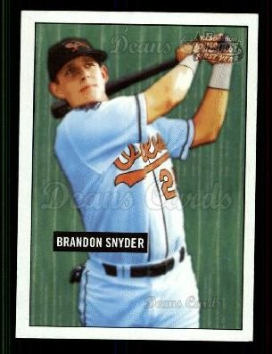 2005 Bowman Heritage #255   -  Brandon Snyder First Year