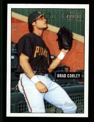 2005 Bowman Heritage #290   -  Brad Corley First Year