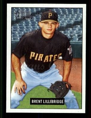 2005 Bowman Heritage #291   -  Brent Lillibridge First Year