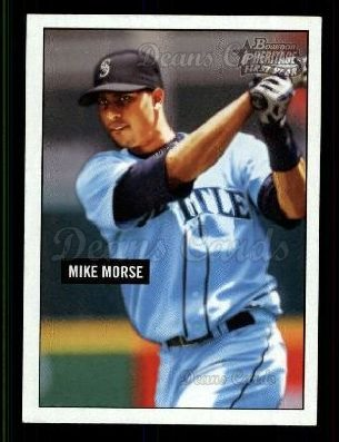 2005 Bowman Heritage #292   -  Mike Morse First Year