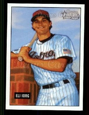 2005 Bowman Heritage #348 DP  -  Eli Iorg First Year Draft Pick