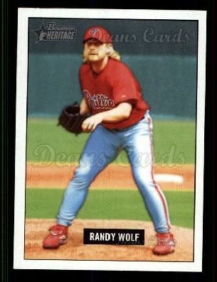 2005 Bowman Heritage #75  Randy Wolf