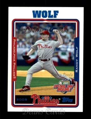2005 Topps Opening Day #11  Randy Wolf