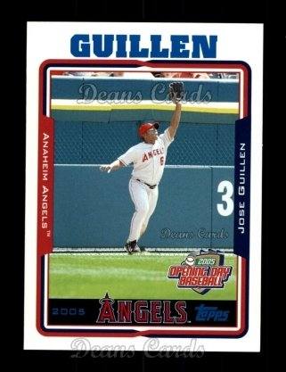 2005 Topps Opening Day #127  Jose Guillen