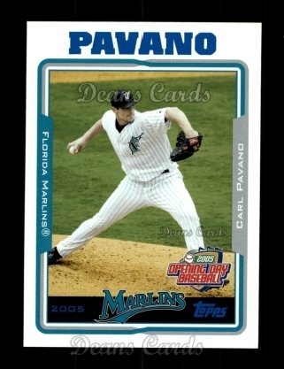 2005 Topps Opening Day #133  Carl Pavano