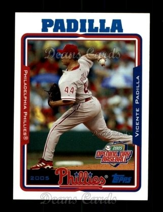 2005 Topps Opening Day #151  Vicente Padilla