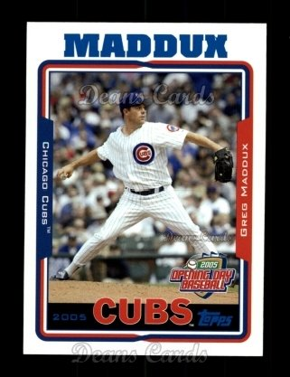 2005 Topps Opening Day #155  Greg Maddux