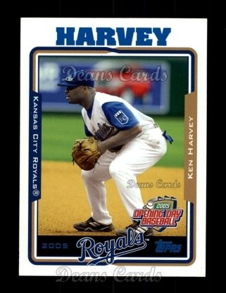 2005 Topps Opening Day #161  Ken Harvey