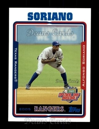 2005 Topps Opening Day #162  Alfonso Soriano