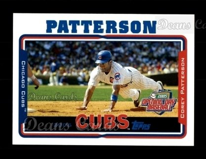2005 Topps Opening Day #19  Corey Patterson