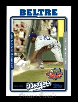 2005 Topps Opening Day #33  Adrian Beltre