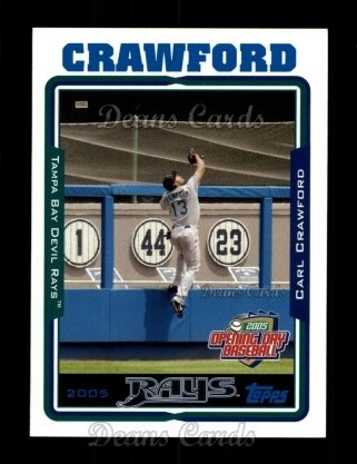 2005 Topps Opening Day #42  Carl Crawford