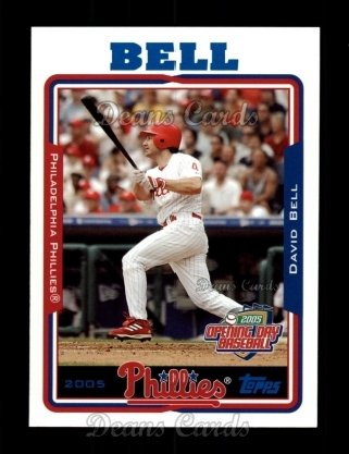 2005 Topps Opening Day #44  David Bell