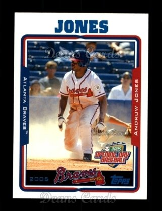 2005 Topps Opening Day #50  Andruw Jones