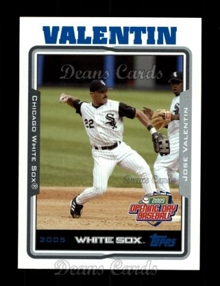 2005 Topps Opening Day #57  Jose Valentin