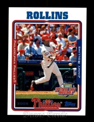 2005 Topps Opening Day #76  Jimmy Rollins