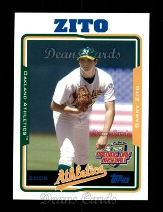 2005 Topps Opening Day #77  Barry Zito