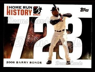 2005 Topps Barry Bonds HR History #723   -  Barry Bonds Home Run 723