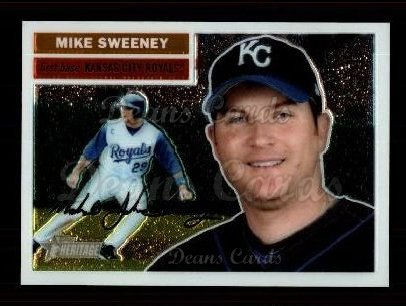 2005 Topps Heritage Chrome #19  Mike Sweeney