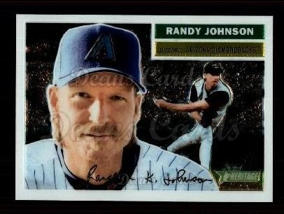 2005 Topps Heritage Chrome #54  Randy Johnson