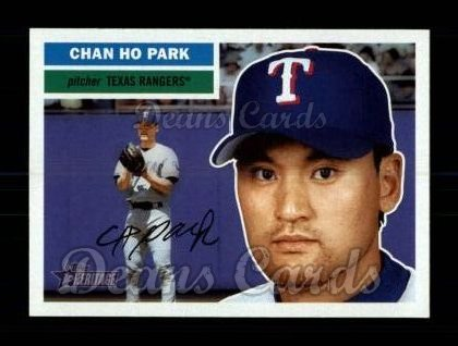 2005 Topps Heritage #141  Chan Ho Park
