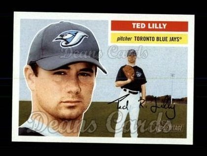 2005 Topps Heritage #168  Ted Lilly