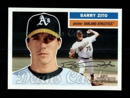 2005 Topps Heritage #185  Barry Zito