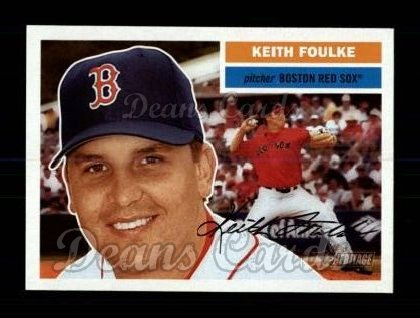 2005 Topps Heritage #205  Keith Foulke