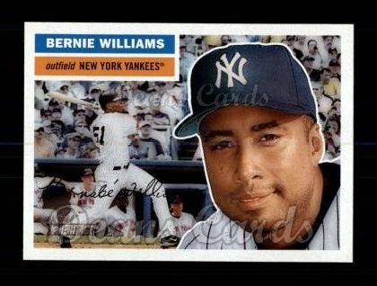 2005 Topps Heritage #223  Bernie Williams