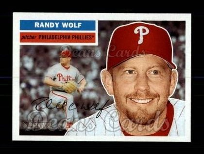 2005 Topps Heritage #240  Randy Wolf