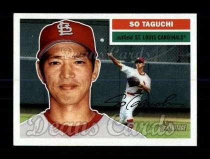 2005 Topps Heritage #245  So Taguchi