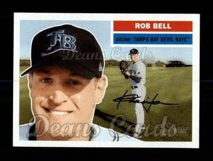 2005 Topps Heritage #246  Rob Bell