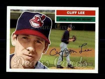 2005 Topps Heritage #250  Cliff Lee